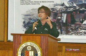 Commissiom on Human Rights Chair Leila de Lima